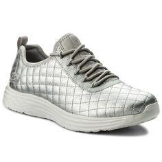 Παπούτσια SKECHERS - BOBS SPORT Social Hustle 31354/SIL Silver