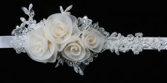 En Vogue Bridal Accessories - Satin Ribbon Flower Wedding Belt | BT1261 (http://www.envogueaccessories.com/Bridal-satin-ribbon-belt-bt1261/)