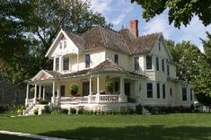 Not necessarily my dream house, but I LOVE Southern Victorian style homes - a la Charleston or Savannah. I also love yellow homes :) I could never see myself needing or wanting this much space though!