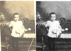 www.fixingphotos.... Restore old family pictures, photographs, digital picture repair enhancement service, Photo Restoration and photo enhancement of family pictures.