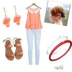 """""""Coral"""" by sandrinadcm on Polyvore"""