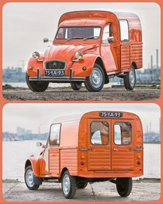 In the Netherlands named the van duck - because of the way it drives. Citroen H Van, 2cv6, Motorbike Design, Auto Retro, Old Classic Cars, Smart Car, Commercial Vehicle, Collector Cars, My Ride