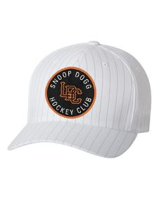 bfba0c7883b SNOOP DOGG  LBC HOCKEY CLUB  PINSTRIPE HOCKEY CAP (white)