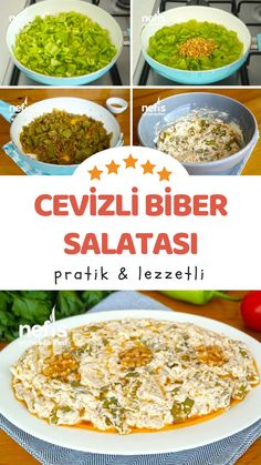Cevizli Biber Yoğurtlaması – Nefis Yemek Tarifleri Vejeteryan yemek tarifleri – The Most Practical and Easy Recipes Yummy Recipes, Vegan Recipes, Dinner Recipes, Yummy Food, Delicious Fruit, Salad Recipes, Healthy Comfort Food, Healthy Eating Tips, Healthy Nutrition