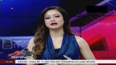 """Hot Sexy Ovi Dian """"Presenter Hot"""" Blue Dress Ketat di Kabar Arena Siang ..."""