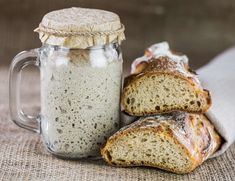 It's very easy to make a basic Sourdough Starter without yeast. Try this how-to sourdough starter recipe and you'll see there is nothing like fresh sourdough bread. Gluten Free Sourdough Bread, Sourdough Bread Starter, Sourdough Pizza, Sourdough Recipes, Bread Recipes, Sourdough Starter Recipe Without Yeast, Fermented Bread, How To Make Bread, Cooking
