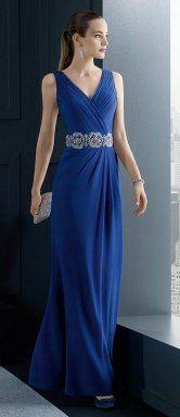 Vestidos azules para invitadas: ¡El color con el que siempre aciertas!