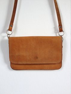 white birkin bag - 70's Leather Pouch. Tooled Leather Purse. Tan Leather Bag. Neck ...