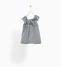 ZARA - KIDS - GINGHAM CHECK DRESS