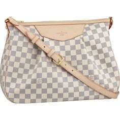 If I can ever afford a Louis, this would be the one that I want!! Damier Azur Canvas Siracusa MM N41112 $229.14
