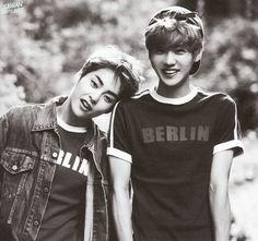 Xiumin and Luhan