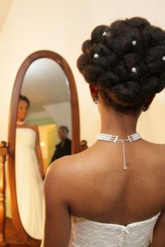 Attendants, Bridal Party, Bridal hair: