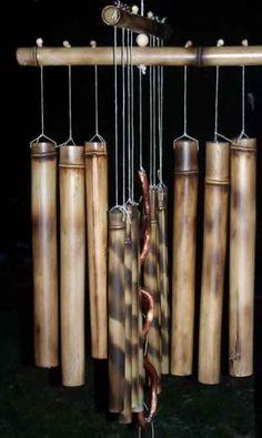 bamboo arts and crafts bamboo musical instruments bamboo chimes . Bamboo Art, Bamboo Crafts, Wood Crafts, Bamboo Ideas, Diy Crafts, Bamboo Wind Chimes, Diy Wind Chimes, Carillons Diy, Decoration