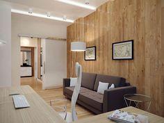 Кабинет. Интерьер 3-комнатной квартиры в стиле экоминимализма в п. Сертолово