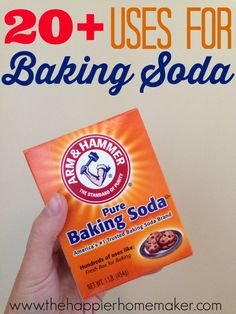 20 Uses for Baking Soda
