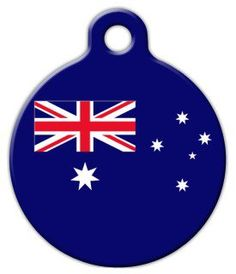 Australia Flag Custom Pet ID Tag for Dogs and Cats Dog Tag Art LARGE SIZE *** Find out more about the great product at the image link. (This is an affiliate link) Dog Tags Pet, Aussie Dogs, Personalized Tags, Cat Collars, Tag Art, Pet Supplies, Your Pet, Dog Cat, Pets