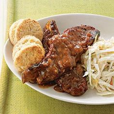 Slow-Cooker Recipe: Spicy Country Ribs | MyRecipes.com