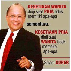 Cinta Quotes, Quran Quotes Love, Cartoon Jokes, Quotes Indonesia, Islamic Quotes, Philosophy, Mario, Knowledge, Wisdom