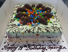 Happy 13th Birthday to a very special person from the crew at Cold Rock Aspley and Deception Bay. need a cake for the weekend? we've got plenty of cakes ready to go in our cake freezer 3419 3100
