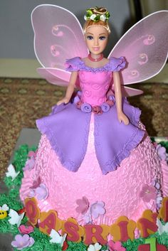 497 Best Doll Cakes Images Barbie Cake Fondant Cakes Sweets
