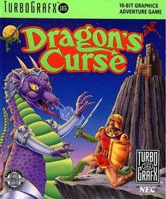Les pires illustrations de boîtes de l'histoire du jeu vidéo : Dragon's Curse sur TurboGrafX 16
