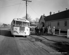 1952 School bus Traralgon Melbourne Victoria, Victoria Australia, Back In Time, Back In The Day, Port Arthur, History Teachers, Tasmania, Historical Sites, Old Photos