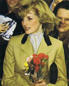 Princess Diana, looks like could be as early as 1981...