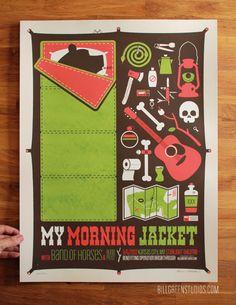 Bill Green Studios - My Morning Jacket