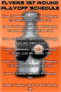 LET'S GO FLYERS!!!!!!!!!!!!!!!!!!!