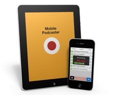 Record Podcast on your iPhone with Mobile Podcaster