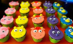 Backyardigans Party Cupcakes