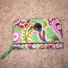 Vera bradley wallet Turn lock wallet new with tag never used Vera Bradley Bags Wallets