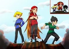 The Boys Are Back In Town by kanoii-chi on DeviantArt