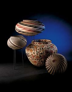 Rainforest Baskets at Museum of Latin American Art, Los Angeles