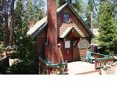 Arrowhead Pine Rose Cabins in Lake Arrowhead, CA....Rustic Romance is wonderful!!