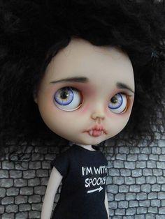 Custom Doll for Adoption  by Spookykidsworkshop  http://etsy.me/2tzm1KF Check more custom dolls for adoption at http://ift.tt/2lbVttq