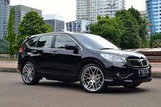 Modifikasi Honda CRV Hitam Velg Crom #HondaCRV #honda #hondaisbest