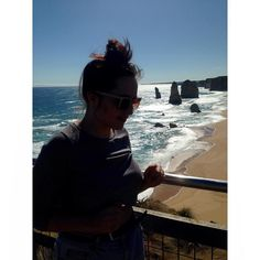 Amazing day out with the gal at the 12 Apostles off the great ocean road. #12apostles #australia #travel #coast #coastalview #selfie by zkingbeck http://ift.tt/1ijk11S