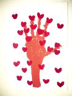 Maro's kindergarten: Valentine's day crafts #valentinesdaycrafts