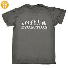 Fonfella Slogans Herren T-Shirt, Slogan Schwarz Dunkelgrau Large - Shirts mit spruch (*Partner-Link)