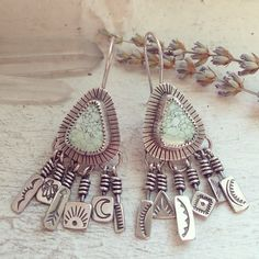 earrings from Soliloquy Jewelry