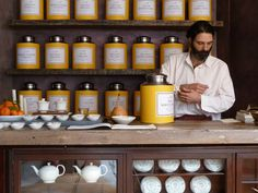 London: Bellocq Tea Shop