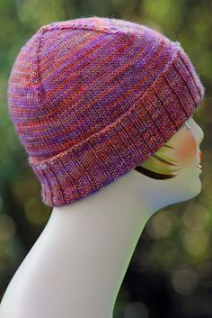 Build-Your-Own DK Weight Hat: made with 100 - 225 yards of dk weight yarn and size US 5 & 6 needles