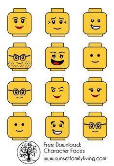 ideas for birthday party boy themes lego Lego Ninjago, Ninjago Party, Lego Minifigure, Lego Themed Party, Lego Birthday Party, 6th Birthday Parties, Lego Parties, Lego Birthday Banner, Cake Birthday