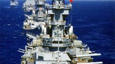 USS Rainier repleished New Jersey ca 1970 in Tonkin Gulf. US Navy battle line. Battleships USS New Jersey and USS Missouri and guided missile cruiser USS Long Beach Navy Marine, Navy Military, Cruisers, Us Battleships, Go Navy, Us Navy Ships, Naval History, United States Navy, Tall Ships