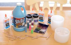 slime making party idea