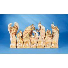 nativity set--woodcarving idea