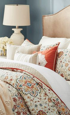 Bring a calming ambiance to your master suite with this quilted coverlet set, featuring a floral motif in earth-toned neutrals. Get inspired at jossandmain.com