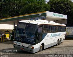 Ônibus da empresa Emtram, carro 2730, carroceria Marcopolo Paradiso GV 1150 HD, chassi Mercedes-Benz O-400RSD. Foto na cidade de Leopoldina-MG por Aguinaldo José da Silva, publicada em 12/02/2012 12:04:52.