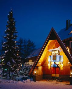 Seiffen, Germany where it is Christmas all year round. Repinned by www.mygrowingtraditions.com